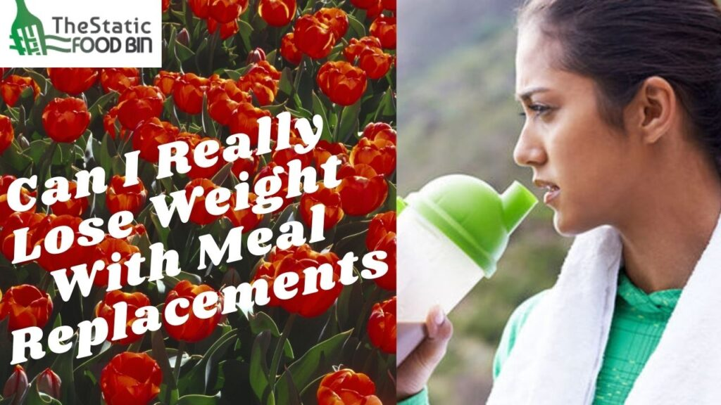 Can I Really Lose Weight With Meal Replacements
