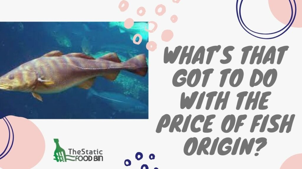 What's that got to do with the price of fish origin