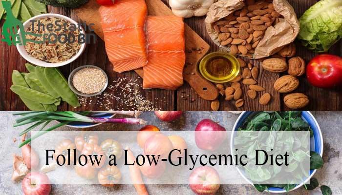 Follow a Low-Glycemic Diet-min