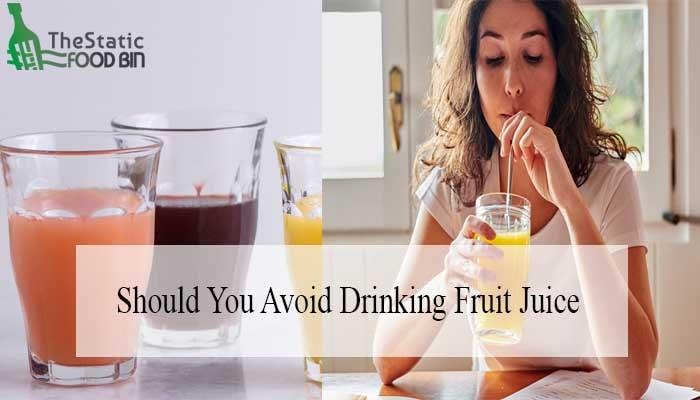 Should You Avoid Drinking Fruit Juice-min