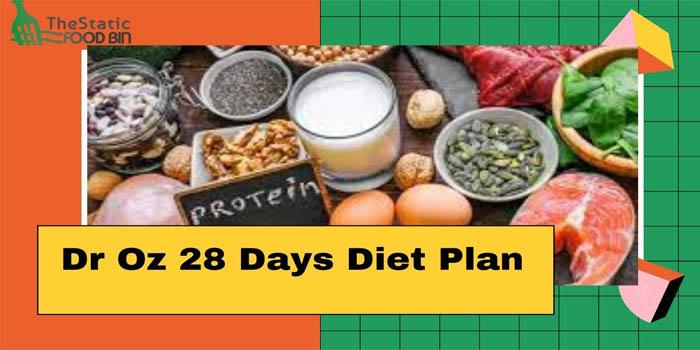 Dr Oz 28 Days Diet Plan