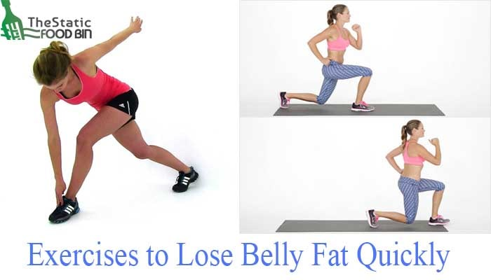 Exercises to Lose Belly Fat Quickly-min