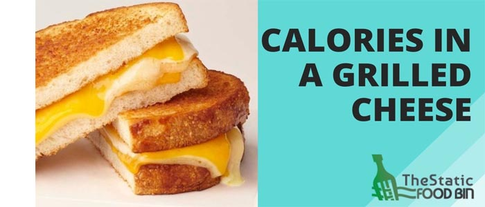Calories In A Grilled Cheese