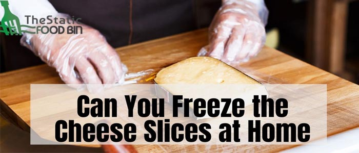 Can You Freeze the Cheese Slices at Home