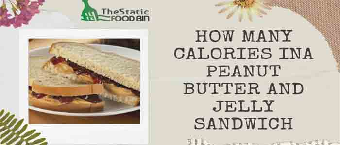 How Many Calories Ina Peanut Butter And Jelly Sandwich