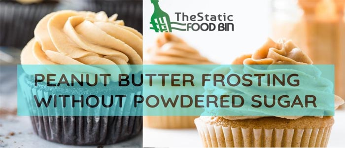 Peanut Butter Frosting Without Powdered Sugar