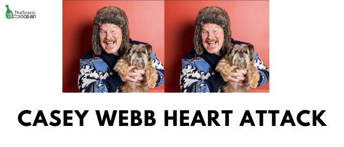 Casey Webb heart attack
