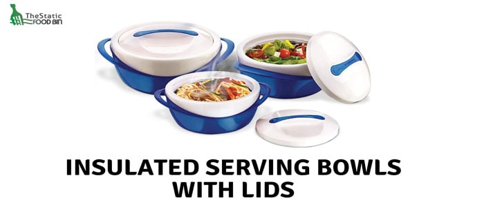 Insulated Serving bowls with lids