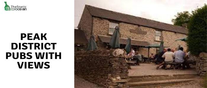 Peak District pubs with views