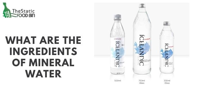 What are the ingredients of mineral water