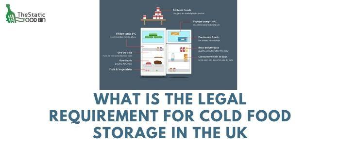 What is the legal requirement for cold food storage in the UKWhat is the legal requirement for cold food storage in the UK