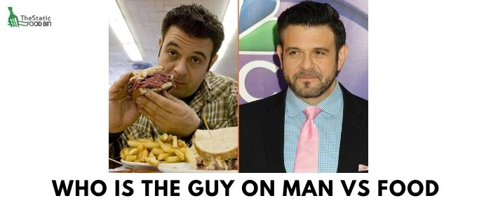 Who is the guy on Man vs Food